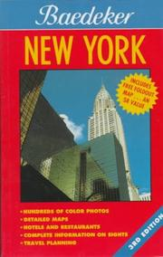 Cover of: Baedeker New York (Baedeker