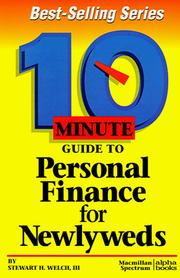 Cover of: 10 Minute Guide to Personal Finance for Newlyweds (10 Minute Guides) | Stewart H. Welch III