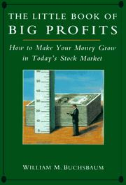 Cover of: The little book of big profits