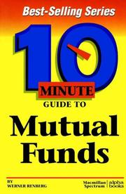 Cover of: 10 minute guide to mutual funds