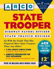Cover of: State trooper : highway patrol officer/state traffic officer