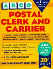 Cover of: Postal Clerk and Carrier | Eve P. Steinberg