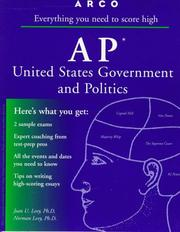 Cover of: AP US Government & Politics 2E (Ap United States Government and Politics, 2nd ed)
