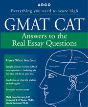 Cover of: Gmat Cat | Mark Alan Stewart