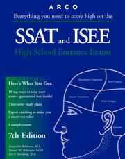 Cover of: SSAT & ISEE 7E (Master the Ssat and Isee)