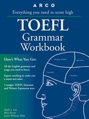 Cover of: TOEFL grammar workbook by Phyllis L. Lim