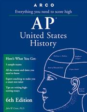 Cover of: AP US History 6E (Ap United States History : Everything You Need to Score High, 6th ed)