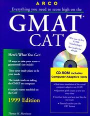 Cover of: Arco Everything You Need to Score High on the Gmat Cat 1999 (Master the Gmat)