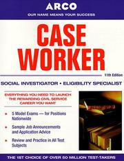 Cover of: Case worker