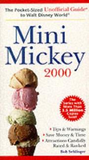 Cover of: Mini-Mickey 2000: The Pocket-Sized Unofficial Guide to Walt Disney World, 2000