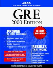 Cover of: Arco Everything You Need to Score High on the Gre