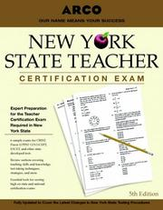 Cover of: NY State Teacher Certification Exam | Arco