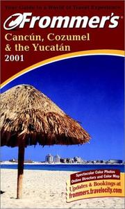 Cover of: Frommer's Cancun, Cozumel & the Yucatan 2001 | Lynne Bairstow, David Baird