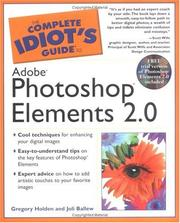 Cover of: The Complete Idiot's Guide to Adobe Photoshop Elements 2.0