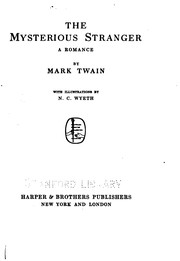 Cover of: The mysterious stranger | Mark Twain