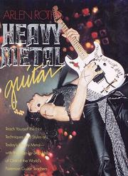Cover of: Arlen Roth's Heavy Metal Guitar