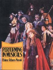 Cover of: Performing in musicals