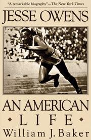 Cover of: Jesse Owens | William J. Baker