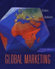Cover of: Global marketing