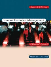 Cover of: Human resource management | Michael Harris