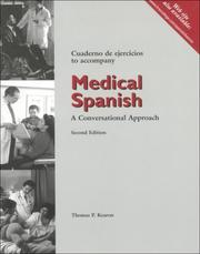 Cover of: Medical Spanish Workbook