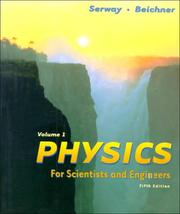 Cover of: Physics for Scientists and Engineers, Volume I (with Student Tools CD-ROM)