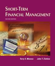 Cover of: Short-term financial management | Terry S. Maness