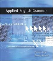 Cover of: Applied English grammar