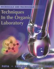 Cover of: Microscale and macroscale techniques in the organic laboratory |