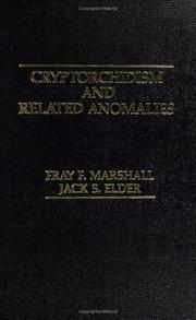 Cover of: Cryptorchidism and related anomalies | Fray F. Marshall