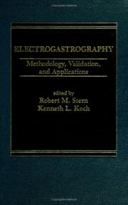 Cover of: Electrogastrography |