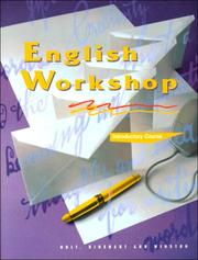 Cover of: English Workshop | James Kinneavy