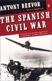 Cover of: The Spanish Civil War