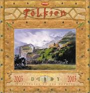 Cover of: Tolkien Diary 2003