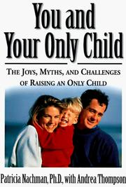 Cover of: You and your only child
