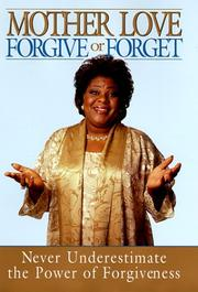 Cover of: Forgive or forget