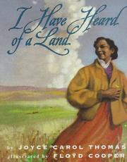 Cover of: I have heard of a land