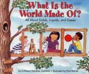 Cover of: What is the world made of?