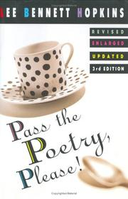 Cover of: Pass the poetry, please!