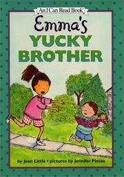 Cover of: Emma's yucky brother