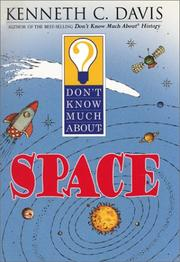 Cover of: Don't know much about space