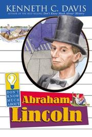 Cover of: Don't know much about Abraham Lincoln