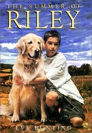 Cover of: The Summer of Riley