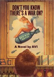 Cover of: Don't you know there's a war on?