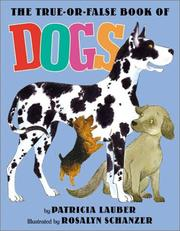 Cover of: The True-or-False Book of Dogs
