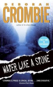 Cover of: Water Like a Stone | Deborah Crombie
