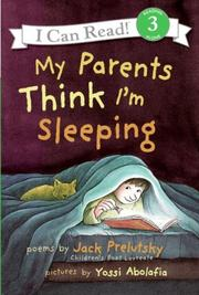 Cover of: My Parents Think I'm Sleeping