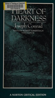 Cover of: Heart of darkness | Joseph Conrad