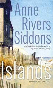 Cover of: Islands (Siddons, Anne Rivers)