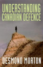 Cover of: Understanding Canadian defence